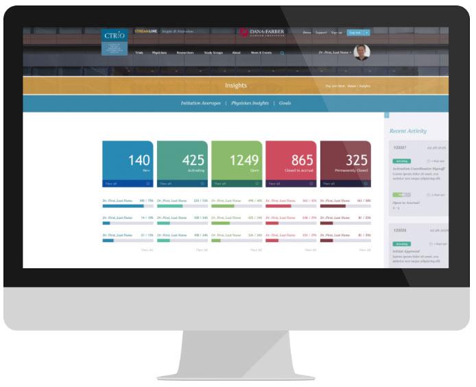 DFCI | CTRIO | Streamline App