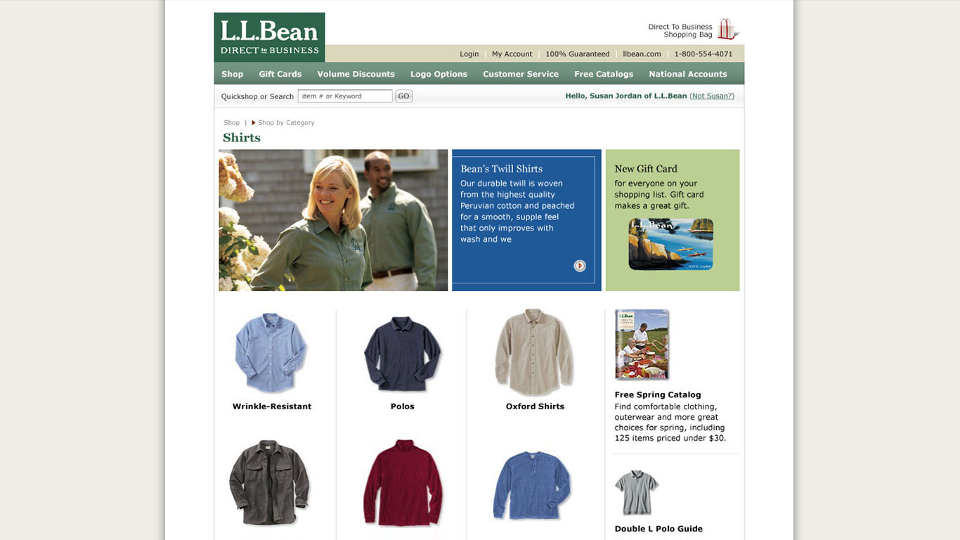 L.L.Bean | Bowman Design